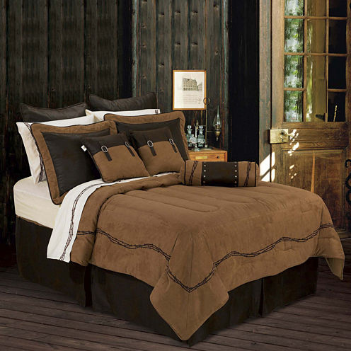 HiEnd Accents Barbwire Comforter Set