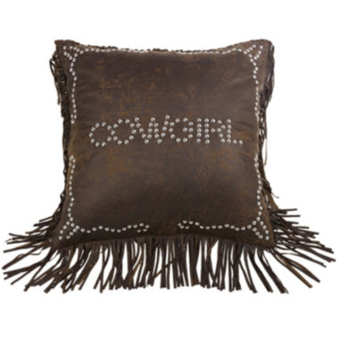 jcpenney.com | HiEnd Accents Calhoun Cowgirl Square Decorative Pillow
