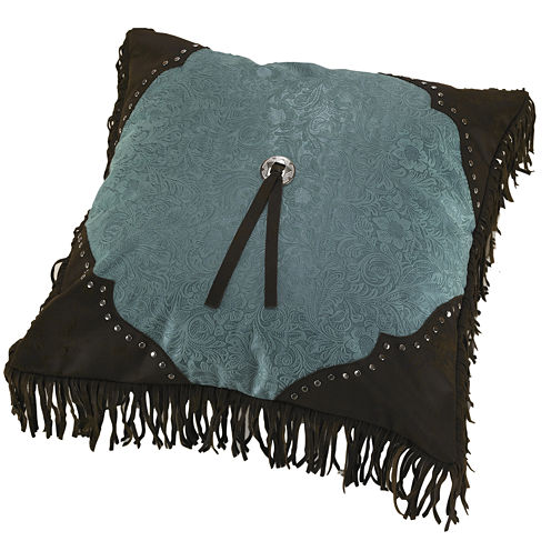 HiEnd Accents Cheyenne Studded Square Decorative Pillow