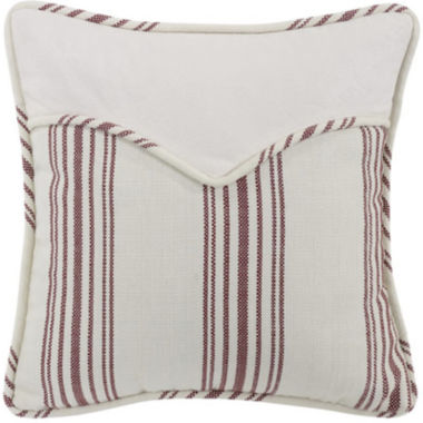 jcpenney.com | HiEnd Bandera Red Stripe Envelope Square Decorative Pillow