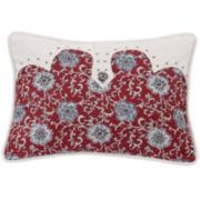 HiEnd Accents Bandera Floral Oblong Pillow