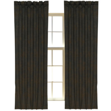 jcpenney.com | HiEnd Accents Barbwire 2-Pack Curtain Panels