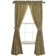 HiEnd Accents Arlington Paisley 2-Pack Curtain Panels