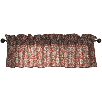 HiEnd Accents Bandera Floral Valance