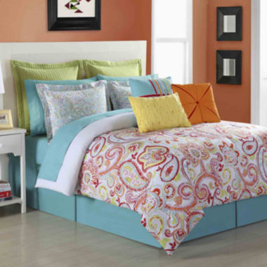 jcpenney.com | Fiesta Torrence Paisley Comforter Set & Accessories