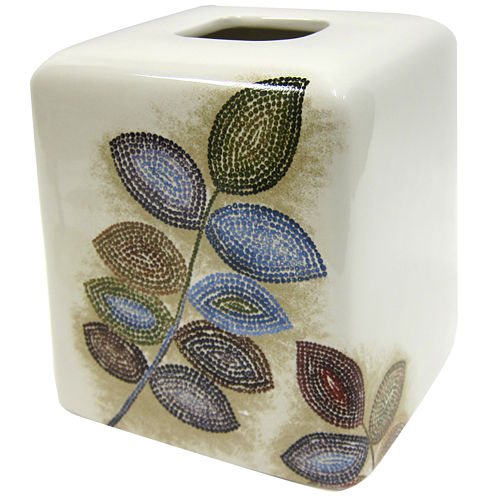 Croscill Classics® Mosaic Leaves Tissue Cover