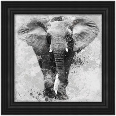 jcpenney.com | Elephant Framed Wall Art