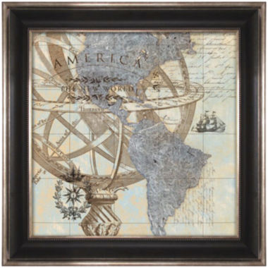 jcpenney.com | New World Map Framed Wall Art
