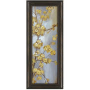 Forsythia Garden Framed Wall Art