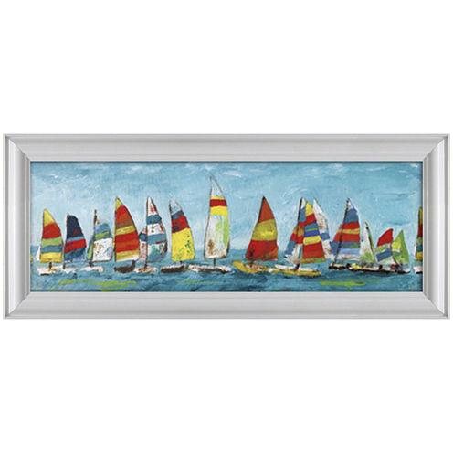 Sailing Away Framed Wall Art