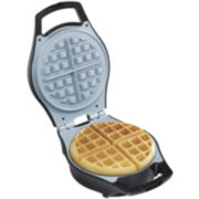 Hamilton Beach® Mess-Free Belgian Waffle Maker + Ceramic Coated Grids