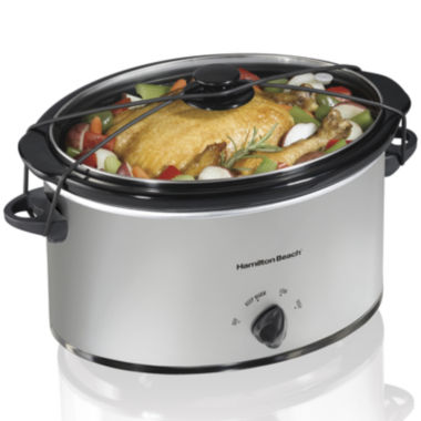 jcpenney.com | Hamilton Beach® 7-Quart Oval Slow Cooker