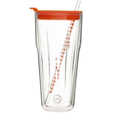 jcpenney.com | Zak Designs® HydraTrak™ 20-oz. Clear Insulated Tumbler with Straw