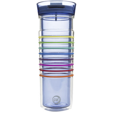 jcpenney.com | Zak Designs® HydraTrak™ 20-oz. Insulated Striped Tumbler