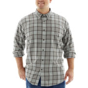 The Foundry Supply Co.™ Long-Sleeve Flannel Shirt-Big & Tall