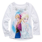 Disney Apparel by Okie Dokie® Frozen Tee - Toddler Girls 2t-5t