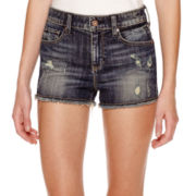 Decree® High-Rise Cutoff Shorts