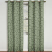 Eclipse® Meridian Blackout Grommet-Top Curtain Panel