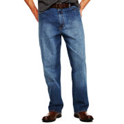 Lee® Premium Custom-Fit Loose Straight Jeans–Big & Tall