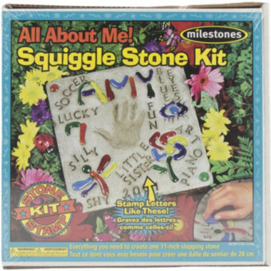 jcpenney.com | Milestones All About Me Squiggle Stone Kit