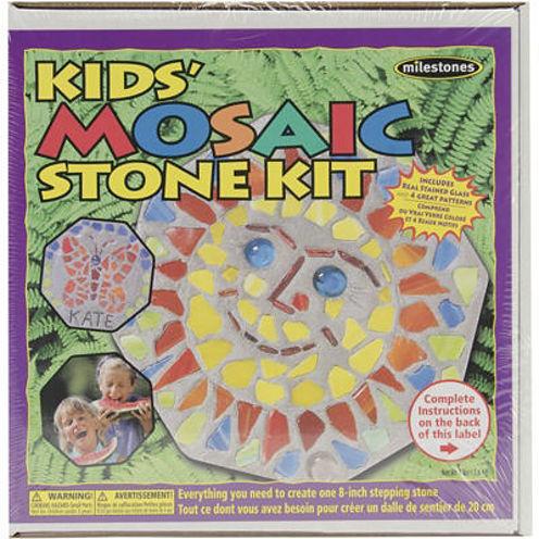 Milestones Kids Mosiac Stone Kit