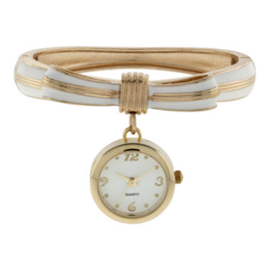 jcpenney.com | Womens Bow Bangle Watch