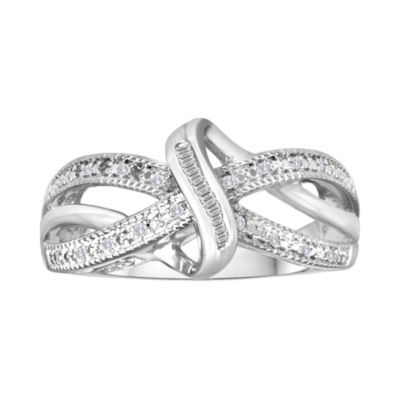 1/10 CT. T.W. Diamond Vintage Twist Ring