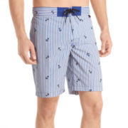 IZOD® Printed Swim Trunks