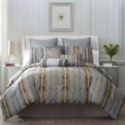 Marque 7-pc. Jacquard Comforter Set & Accessories