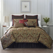 Rouen 7-pc. Jacquard Comforter Set & Accessories