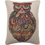 Craft Owl Oblong Decorative Pillow