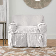 SURE FIT® Matelassé Damask 1-pc. Chair Slipcover
