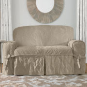 SURE FIT® Matelassé Damask 1-pc. Loveseat Slipcover