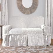 SURE FIT® Matelassé Damask 1-pc. Sofa Slipcover