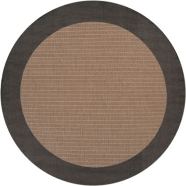 jcpenney.com | Couristan® Checkered Field Indoor/Outdoor Round Rug