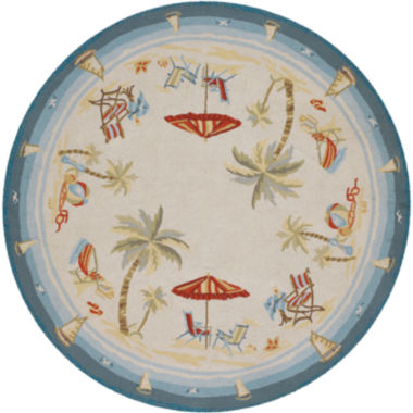 jcpenney.com | Couristan® Pacific Heights Indoor/Outdoor Round Rug
