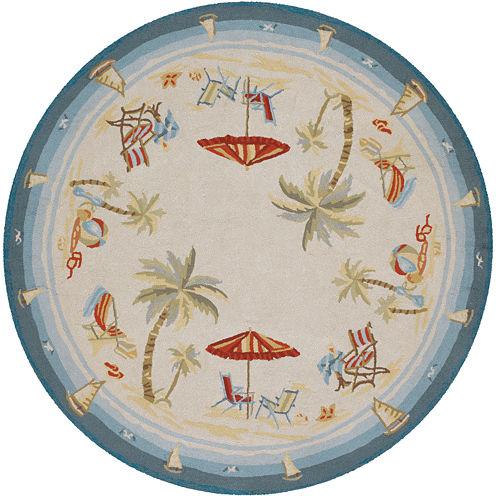 Couristan® Pacific Heights Indoor/Outdoor Round Rug