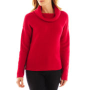 Liz Claiborne Turtleneck Knit Sweater