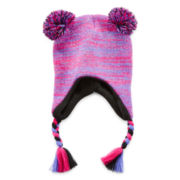 Pom Pom Winter Hat - Girls