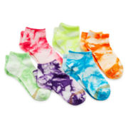 Gold Toe® 6-pk. Tie-Dyed Socks - Girls