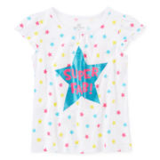 Okie Dokie® Short-Sleeve Graphic Tee - Girls 4-6x