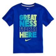 Nike® Short-Sleeve Graphic Knit Tee - Boys 4-7