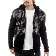 Switch® Patterned Full-Zip Fleece Hoodie
