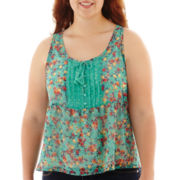 Arizona Woven Print Cami - Plus