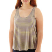 Arizona Striped Tank Top - Plus