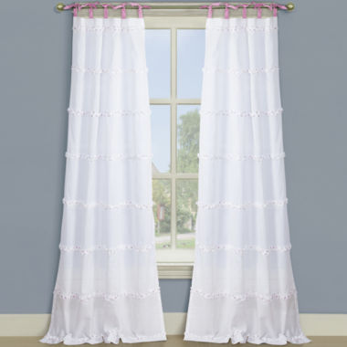 jcpenney.com | Isabelle Tie-Top Curtain Panel