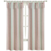 Clementine Tie-Top Curtain Panel