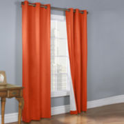 Weathermate 2-Pack Grommet-Top Room-Darkening Curtain Panels