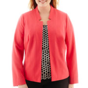 Worthington® Open-Front Essential Blazer - Plus