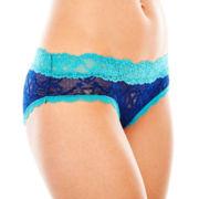 Flirtitude® Lace Hipster Panties